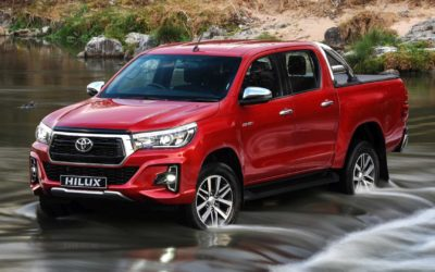 South Africa's top 10 best-selling cars at the end of 2018