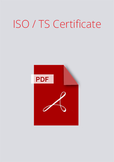 Formex ISO / TS Certificate