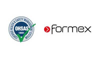 Formex awarded BS OHSAS 18001 health and safety certificate