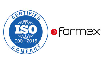 Formex awarded ISO 9001 certificate