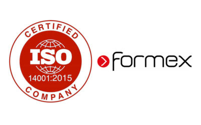 Formex awarded ISO 14001 environmental certificate