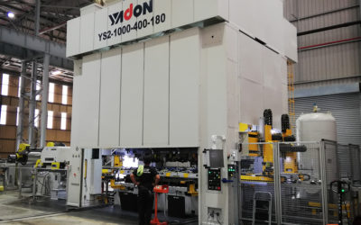 Formex Industries new Yadon press to increase capacity