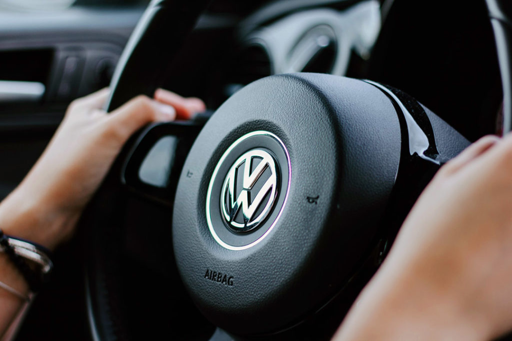 VW South Africa steering wheel and interior