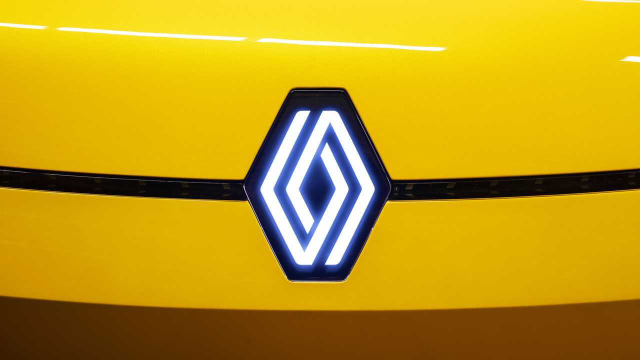 New Renault logo