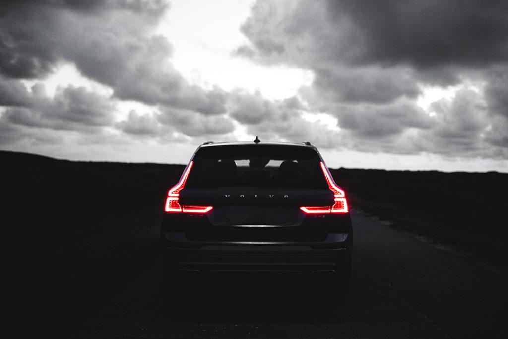 Volvo V90 brake lights